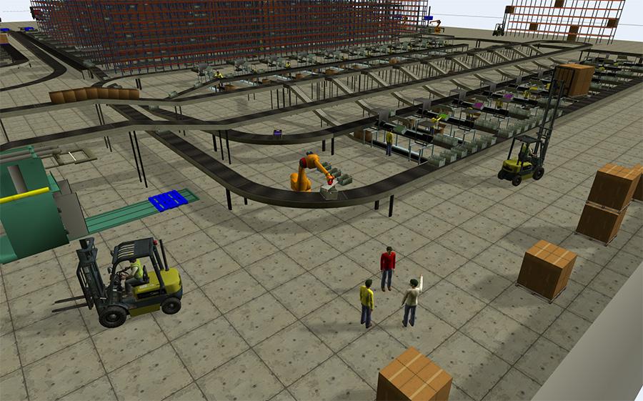Modélisation et simulation des systèmes de production et logistique
